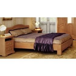 Кровать Суламифь (140 на 200) с низким изножьем