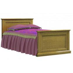 Кровать Леди (90 на 200) с высоким изножьем