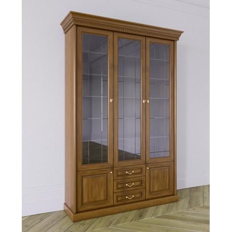Шкаф для книг Государь 3-дверный