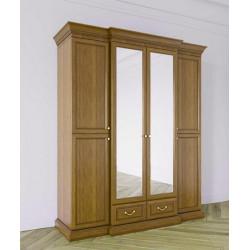 Шкаф Леди 4-дверный