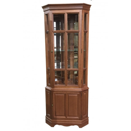 Шкаф-витрина Катарина-2 (угловая)