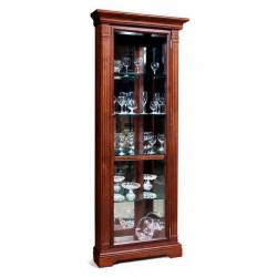 Шкаф с витриной угловой Престиж ГМ 5915Е-01