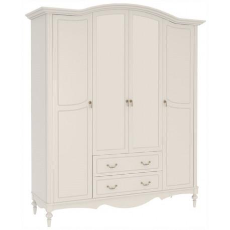Шкаф Амелия 4-х створчатый с ящиками