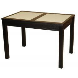 Стол обеденный (раздвижной) Альфа ЖМ с камнем