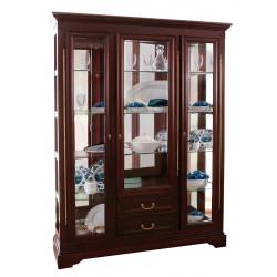 Шкаф с витриной Полонез ММ-174-09