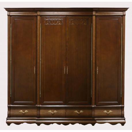 Шкаф для одежды Оскар ММ-216-01/14Б (высокий)