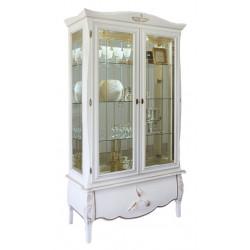 Шкаф с витриной Трио ММ-279-02