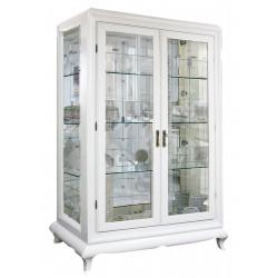 Шкаф с витриной Соната ММ-284-02