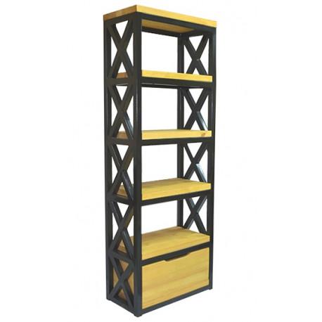 Стеллаж с ящиком Л-02 (стеллажи и этажерки, материал: сосна) – купить по цене 24 780 руб. в Москве недорого