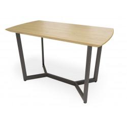 Обеденный стол Лофт М (шпон или массив дуба)