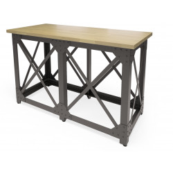 Обеденный стол Лофт Л  (шпон или массив дуба)