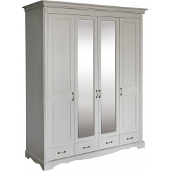 Шкаф для одежды 4-дверный Бланш 2264-01 БМ751