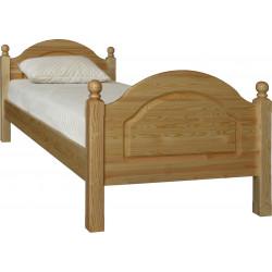 Кровать 1-09 Лотос 8905 односпальная (90x200)