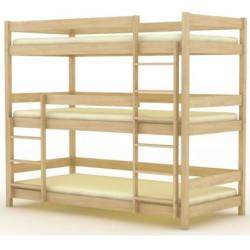 Кровать трехъярусная БР-17