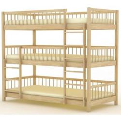 Кровать трехъярусная БР-18