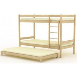 Кровать трехъярусная (выкатная) БР-15