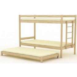 Кровать трехъярусная (выкатная) БР-15.1