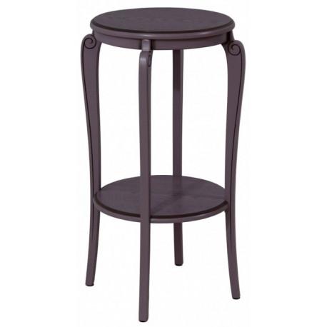 Подставка (круглый столик с полкой) Элиза-14