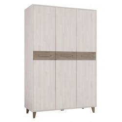 Шкаф 3-дверный Софт