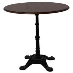 Стол обеденный нераздвижной Бриан-4 (на кованной ножке)