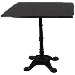 Стол обеденный нераздвижной Бриан-5 (на кованной ножке)