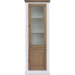Шкаф с витриной «Мейсон 2685-01» БМ860