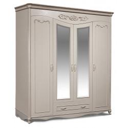 Шкаф комбинированный Валенсия ГМ8901Д-10 с зеркалом