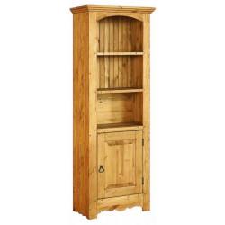 Библиотека узкая с дверью