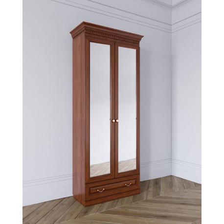 Шкаф Лилия 2-дверный, зеркальный фасад