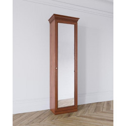 Шкаф Леди 1-дверный (600), зеркальный фасад