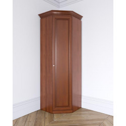 Шкаф Лилия угловой, глухой фасад