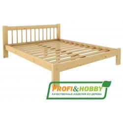 Кровать Дачная (1800 х 2000) сосна, без покраски