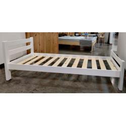 Кровать Классика (1600 х 2000) сосна, эмаль белая