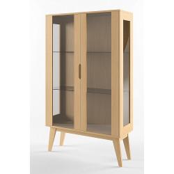 Шкаф с витриной Инстант B2 ВМФ-1621