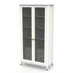Шкаф с витриной B4D2 Невада ВМФ-1900