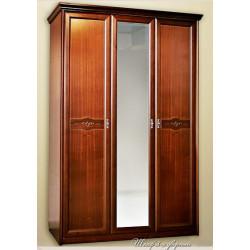 Шкаф для платья и белья 3-дверный НГ-94