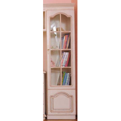 Шкаф комбинированный ВМ-0235/С Вилия №2 С в цвете белая эмаль (ЭЗ)