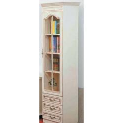 Шкаф комбинированный ВН-0135/С Вилия №1 С в цвете «белая эмаль» (ЭЗ)