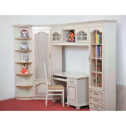 Детская (модульная стенка) Вилия-Н со столом и стулом – пример 2