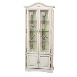Шкаф с витриной Рубин ВМФ-6524 в цвете ЭЗ