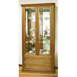 Шкаф-витрина 2-дверная из серии НГ-92