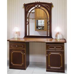 Туалетный стол с зеркалом Дриада