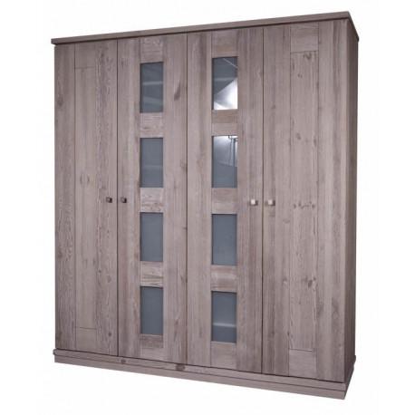 Шкаф 4-дверный БМ-2107