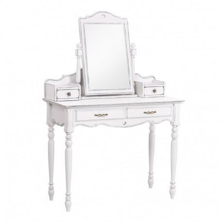 Туалетный столик с зеркалом (консоль в сборе с зеркалом) Капри