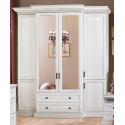 Шкаф 4-дверный Олимпия И005.01 в эмали