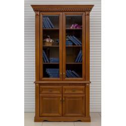 Шкаф для книг Афина 2-дверный высокий И010.14