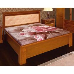 Кровать Афина 1800*2000 с мягким изголовьем и низким изножьем И010.04