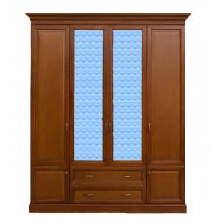 Шкаф 4-дверный Нинель И004.01