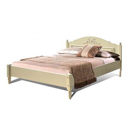 Кровать двойная Фиерта 3-02.1 (180 на 200) с низким изножьем