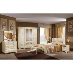 Спальня Оскар с декором «Розы» в эмали